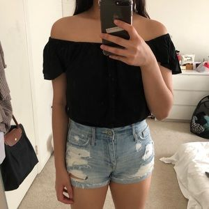 NWT Abercrombie off shoulder top